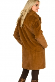 Set |  Faux fur coat Styn | brown  | Picture 6