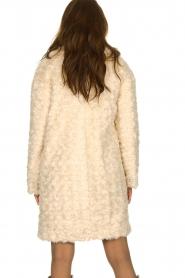 Set |  Faux fur coat Lizzy | off-white  | Picture 5