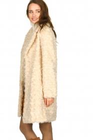 Set |  Faux fur coat Lizzy | off-white  | Picture 4
