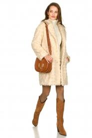 Set |  Faux fur coat Lizzy | off-white  | Picture 7