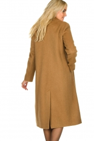 Set |  Woolen coat Mirthe | brown  | Picture 6