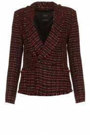 Set |  Bouclé blazer Ellen | black  | Picture 1