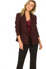Set |  Bouclé blazer Ellen | black  | Picture 4