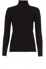 Set |  Merino woolen turtle neck sweater Julia | natural  | Picture 1