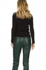 Set |  Merino woolen turtle neck sweater Julia | natural  | Picture 6
