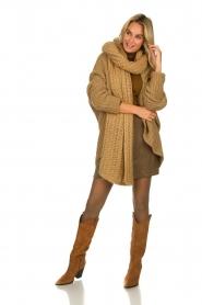 Set |  Merino woolen turtle neck sweater Julia | natural  | Picture 3