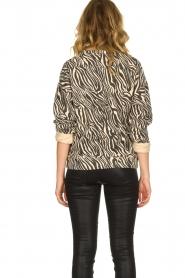 Set |  Zebra printed sweatshirt Yessie | animal print  | Picture 5