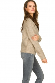 Set |  Knitted sweater Ria | brown  | Picture 4