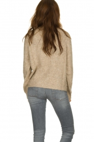 Set |  Knitted sweater Ria | brown  | Picture 5