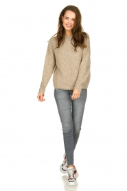 Set |  Knitted sweater Ria | brown  | Picture 3