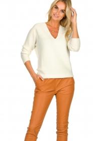 Set | Woolen sweater Annabel | white  | Picture 2