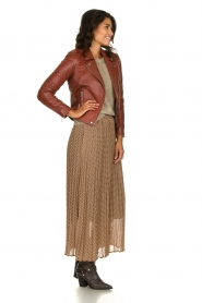 JC Sophie |  Printed maxi skirt Arinde | print  | Picture 1
