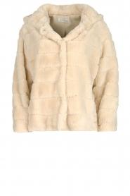 JC Sophie    Faux fur coat Ashanti   beige    Picture 1