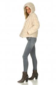 JC Sophie |  Faux fur coat Ashanti | beige  | Picture 7