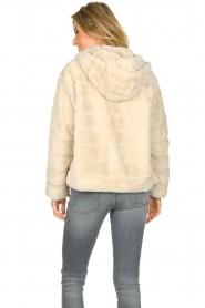 JC Sophie |  Faux fur coat Ashanti | beige  | Picture 6