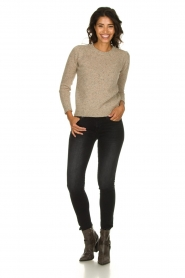 JC Sophie |  Knitted sweater Anne Sophie | brown  | Picture 5