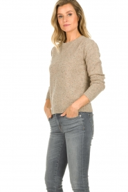 JC Sophie |  Knitted sweater Anne Sophie | brown  | Picture 3