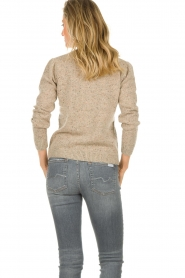JC Sophie |  Knitted sweater Anne Sophie | brown  | Picture 4