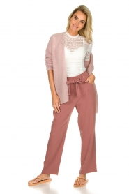JC Sophie |  Knitted cardigan Angelique | pink  | Picture 3