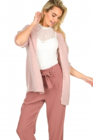 JC Sophie |  Knitted cardigan Angelique | pink  | Picture 2