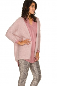 JC Sophie |  Knitted cardigan Angelique | pink  | Picture 4