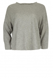 JC Sophie |  Basic sweater Annabelle | grey  | Picture 1