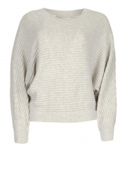 JC Sophie |  Knitted sweater Almira | grey  | Picture 1