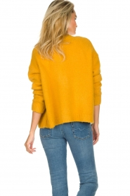JC Sophie |  Knitted cardigan Amalia | ochre yellow  | Picture 5