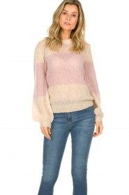 JC Sophie |  Knitted sweater Angelina | pink  | Picture 2