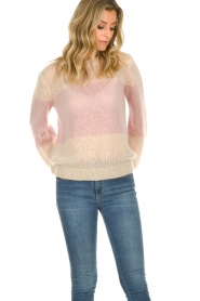 JC Sophie |  Knitted sweater Angelina | pink  | Picture 4