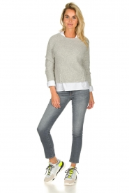 JC Sophie |  Knitted sweater Ashton | grey  | Picture 3
