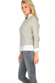 JC Sophie |  Knitted sweater Ashton | grey  | Picture 5