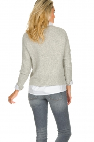 JC Sophie |  Knitted sweater Ashton | grey  | Picture 6