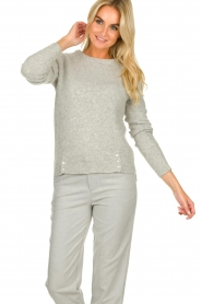 JC Sophie |  Knitted sweater Ashton | grey  | Picture 2