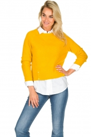 JC Sophie |  Knitted sweater Ashton | yellow  | Picture 2