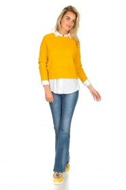 JC Sophie |  Knitted sweater Ashton | yellow  | Picture 3