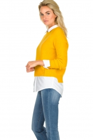 JC Sophie |  Knitted sweater Ashton | yellow  | Picture 4