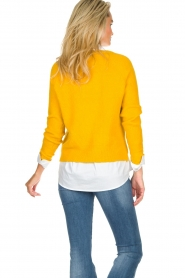 JC Sophie |  Knitted sweater Ashton | yellow  | Picture 5