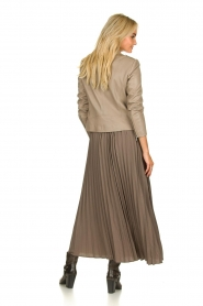 JC Sophie |  Plisse maxi skirt Aminna | grey  | Picture 5