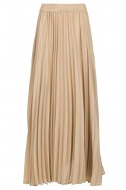 JC Sophie |  Plisse maxi skirt Aminna | beige  | Picture 1