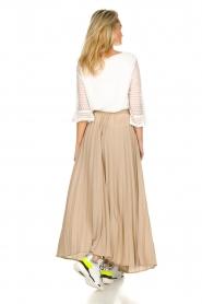 JC Sophie |  Plisse maxi skirt Aminna | beige  | Picture 4