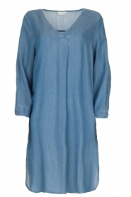 JC Sophie |  Denim tunic dress Alfreda | blue  | Picture 1