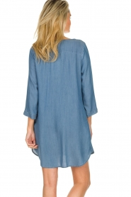 JC Sophie |  Denim tunic dress Alfreda | blue  | Picture 4