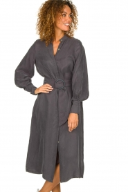 JC Sophie |  Maxi dress April | grey  | Picture 4