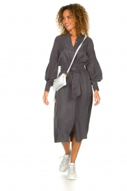 JC Sophie |  Maxi dress April | grey  | Picture 3