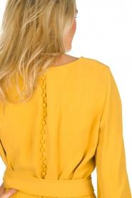 JC Sophie |  Dress with waistbelt Aruba | yellow  | Picture 7
