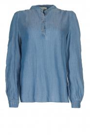 JC Sophie |  Denim blouse Alexia | blue  | Picture 1