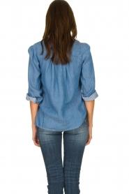 JC Sophie |  Denim blouse Alexia | blue  | Picture 5