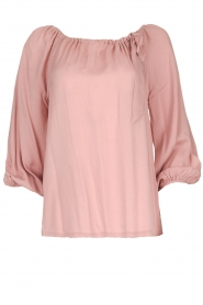 JC Sophie |  Off-shoulder top Atlanta | pink  | Picture 1