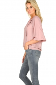 JC Sophie |  Off-shoulder top Atlanta | pink  | Picture 5